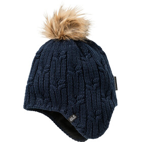 Jack Wolfskin Stormlock Braid Cap Women midnight blue
